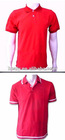 Polyester red Polo Shirt custom polo