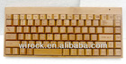 wireless nature hand made bamboo keyboard mouse combos