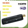 Hot Android 4.0 HDMI TV box with Flash V10.1,Andoid HDMI Player,Google Android4.0 TV Stick,android usb dongle with TCC8925