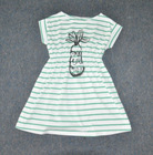 Girls colorful stripe dress