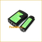 Test Tool for RJ45 RJ11 Cat-5 Cat6 Network LAN Cable Tester(#1962)