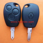 Renault 3 button remote key blank (With Logo)