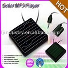Solar MP3 Player with Touch Sceen, Necklace MP3 Player