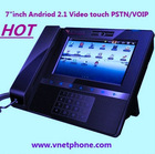 """Hot Selling 7"""" inch touch Screen Sip Video Phone"""