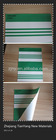 Striped Colors Laminated PVC Sunshade Tarpaulin