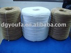 white color decor paper twisted rope roll