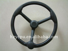polyurethane foam steering wheel in the car