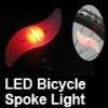 Blue Bicycle LED Spoke Lights, Battery Operation
