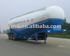 Bulk cement transportation semitrailer
