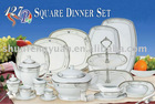 127pcs pocelain dinnerware sets