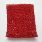 red greaseproof kitchen cleaning sponge
