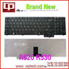 Hot Sale Laptop Keyboard for R620 R530 RU Version Black Notebook Keyboard Whoelsale