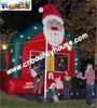 inflatable Santa Bounce House Jumper