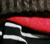 Gold/silver Lurex Thread Nylon/spandex Jersey fabric