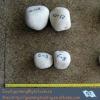 grayish round grinding pebbles (flint silica pebbles,hardness>8,SiO2>99.31%)
