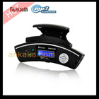 Steering Wheel Mount Handsfree Bluetooth Caller ID with MP3 Player, FM Transmitter and TF/USB slot