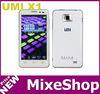 "UMI X1 MTK6577 Dual Core Android 4.0 3G 4.5"" 1280*720 IPS Capacitive Screen 8MP 1GB RAM WIFI GPS Smart Phone"