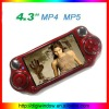4.3 inch PMP MP5 player with Vibration Sense Game (DW-5-022)