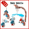 Plush Baby Crib Musical mobile