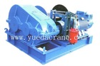 6 ton heavy duty electric winch with wire rope