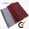 Fashion Double Face Design Mens Scarf