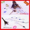 2013 new trend luxurious mobile phone strap zipper strap