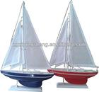 Wooden Model Sailboats