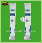 coin operated body weight scale/ultrasonic electronic body scales/ultrasonic electronic body health scale