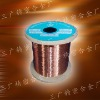 Enameled copper alloy wire
