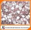 light rose flat back rhinestone crystals