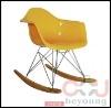 eames rocking chair/ eames plastic chair RAR