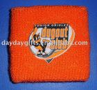 Cotton Sweat Wristband With Heat-Transfer Printing Logo