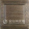 embossed leather fireproof wall interior decorative panel
