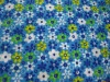 100% polyester small broken flower with polar fleece