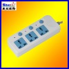 ST-PS02# multiple safety power socket three plugs