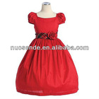 Real Sample Flower Girl Dresses 2012 Under 30 Evening Gown for children kids dresses for weddings long sleeve