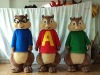alvin and friends 3 chipmunks party costume, for party or birthday use