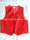 Woven Polyester Vest/waistcoat