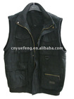 2012 fashion fitted vests for men professional manufacturer(v026)