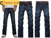 2012 New Popular Fashion Man Jeans Pants Straight Cut Jeans Denim Jeans Wholesale China
