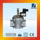 Industrial use DN32 automatic shut-off solenoid valve for gas