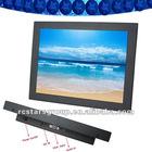 12 inch VGA input LCD monitor for retail,digital signage monitors,LCD panel