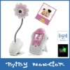 Voice Control 1.5 Inch LCD 2.4GHz Wireless Baby Monitor with Night Vision AV OUT