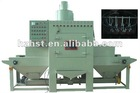 Automatic conveyor sandblasting equipment