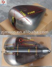 Motorcycle gas fuel tank stretched gas fuel tank and cap for HARLEY