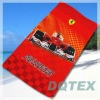 100% cotton beach towel with sublimation printing