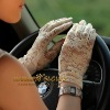 Lady's Sexy Wrist lace UV Prevention Sun Block gloves