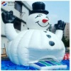 funny christmas inflatable snowman for kids