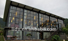 7mm/8mm/9mm/10mm to 19mm Tempered Curtain Wall Glass