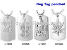 Men's fashion ,popular hip hop dog tag ,bling bling ,ice out chain dog tag